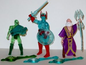 Crystar Action Figures