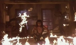 Trick or Treat: Heavy Metal Horror Movie (1986) – Green and