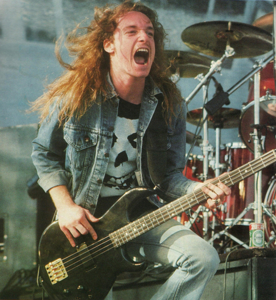 Image result for cliff burton playing