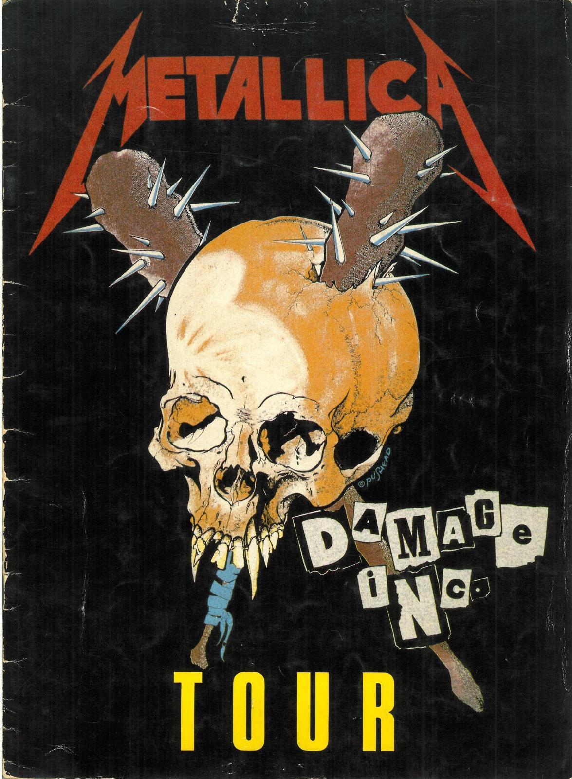 Metallica Damage Inc Tour Jason Newsteds Second Gig